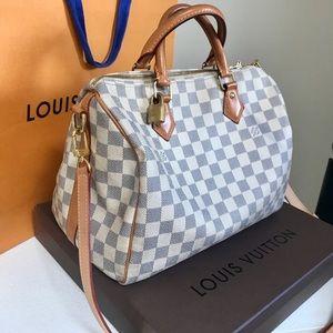 e0e35763e8c8 Louis Vuitton Bags - 2015 Louis Vuitton Speedy Bando 30
